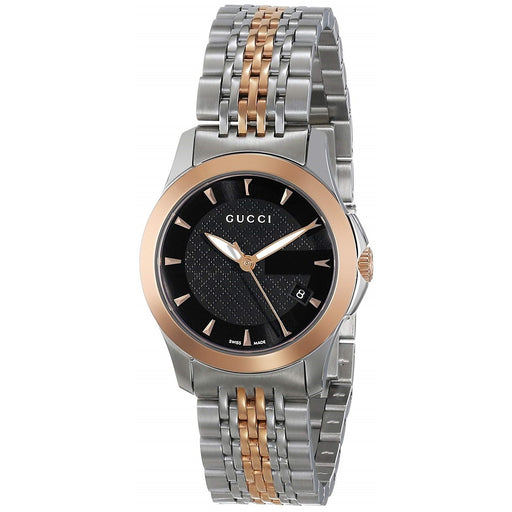 Gucci Women's YA126512 G-Timless Two-Tone Stainless Steel Watch