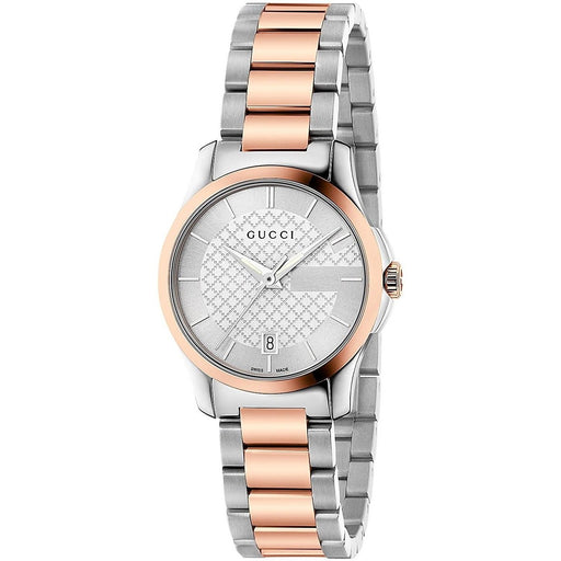 6628c166529 Gucci Women s YA126528 G-Timeless Two-Tone Stainless Steel Watch