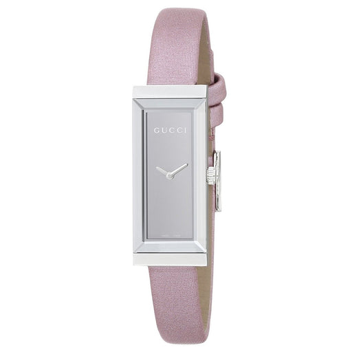 5446914ff45 Gucci Women s YA127502 G-Frame Pink Leather Watch