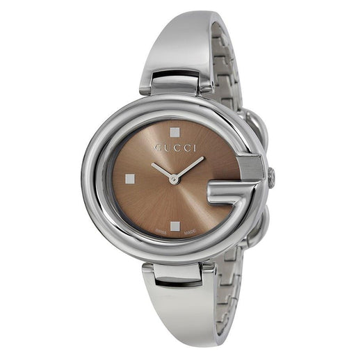 Gucci Women's YA134302 Guccissima Stainless Steel Watch