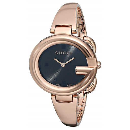 Gucci Women's YA134305 G-Timeless Rose-Tone Stainless Steel Watch
