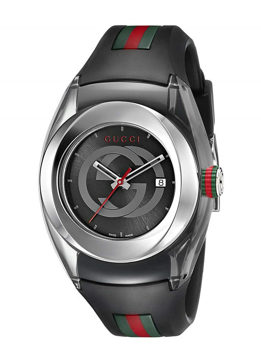 Gucci Unisex YA137301 Sync Multicolored Rubber Watch