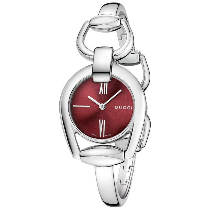 Gucci Women's YA139502 Horsebit Stainless Steel Watch