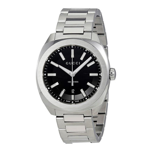 Gucci Men's YA142301 GG2570 Large Stainless Steel Watch