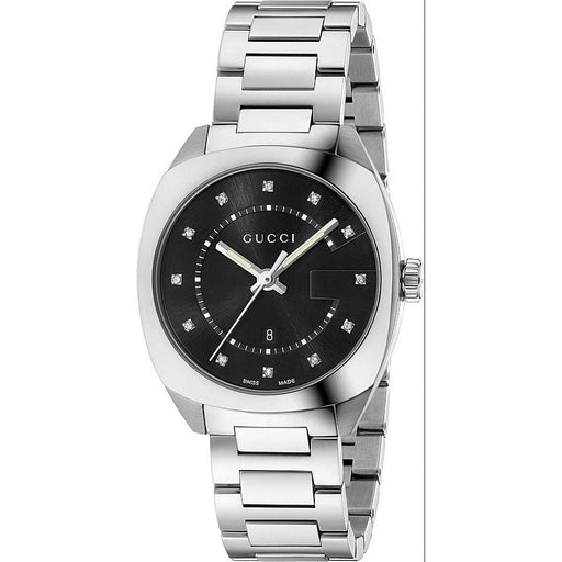 Gucci Women's YA142404 GG2570 Diamond Stainless Steel Watch