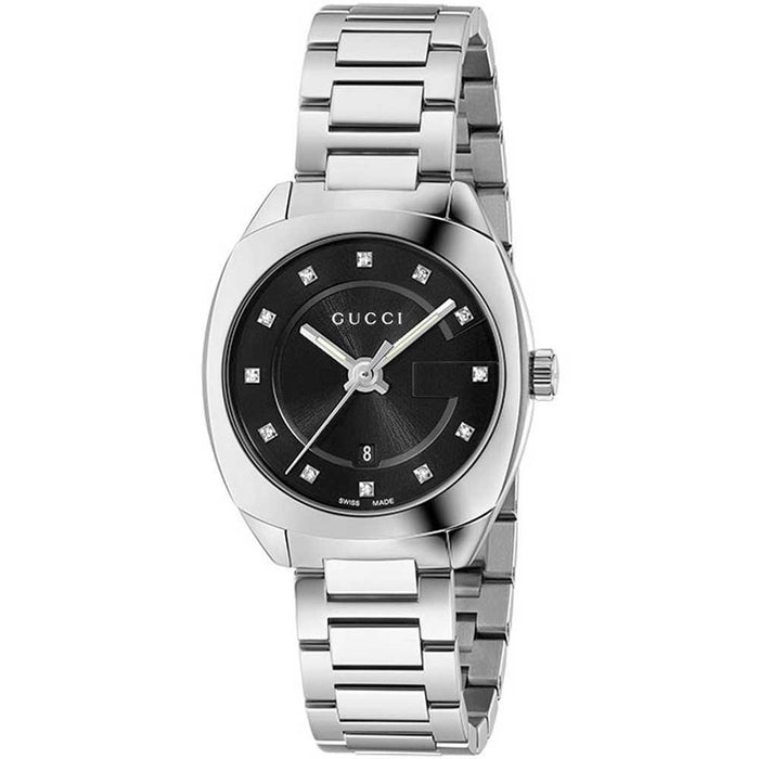 Gucci Women's YA142503 GG2570 Small Diamond Stainless Steel Watch
