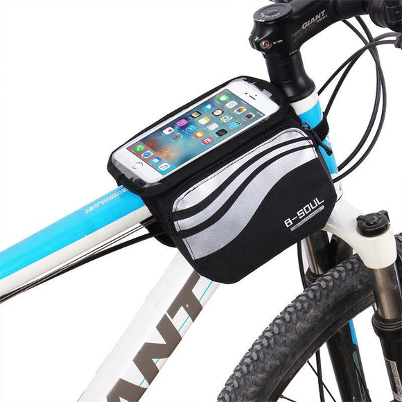 B-SOUL Cycling Bicycle Front Phone Bag