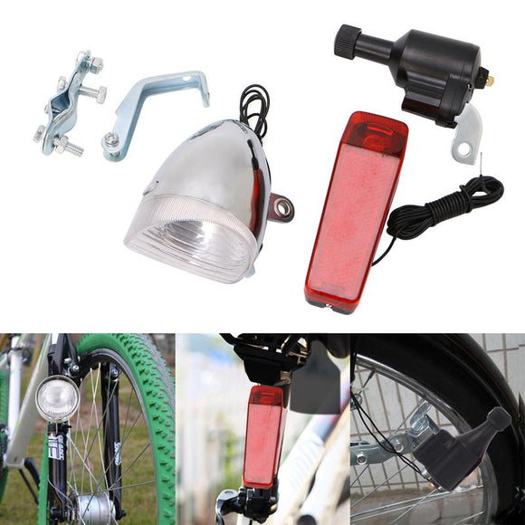 Dynamo Generator Bicycle Lights