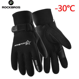 RockBros Thermal Touch Screen Bicycle Gloves