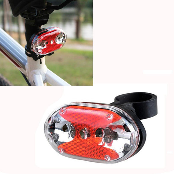 Solar Powered LED Rear Flashing Tail Light