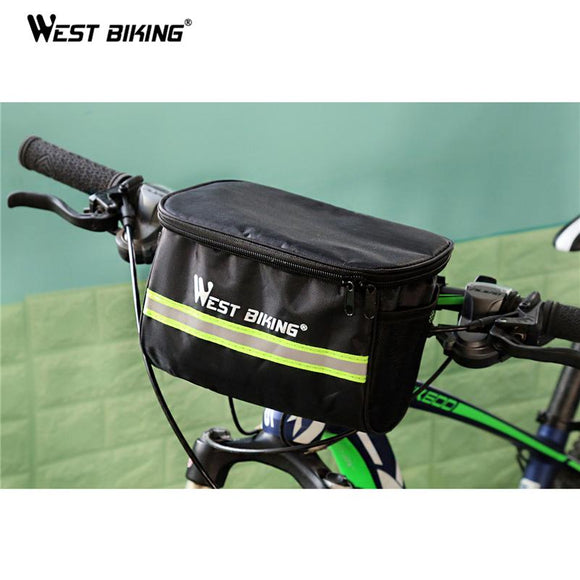 WEST BIKING Reflective Front Bag