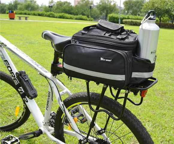 West Biking Waterproof Cycling Saddle Bag