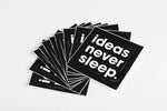 10 Stickers #neversleep
