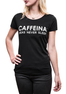 T-shirt Donna #neversleep
