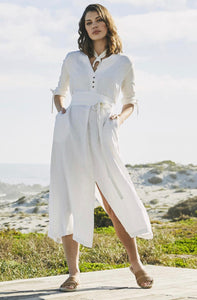 Marutsca Linen Maxi Dress