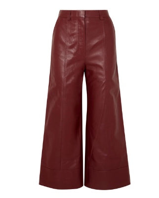 DODO BAR OR Magen leather wide-leg pants