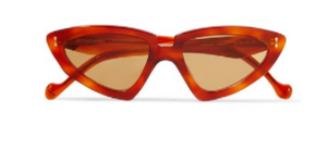 ZIMMERMANN Verona cat-eye tortoiseshell acetate sunglasses