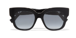 FENDI Oversized square-frame acetate sunglasses