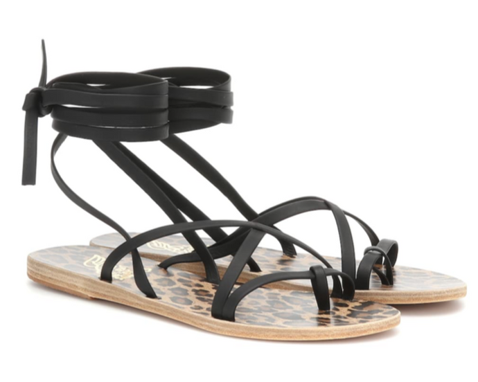 ANCIENT GREEK SANDALS Morfi leather sandals