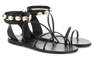 ANCIENT GREEK SANDALS Meloivia leather sandals