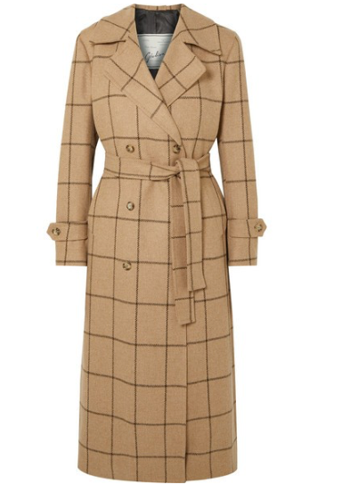 GIULIVA HERITAGE COLLECTION Christie checked merino wool coat
