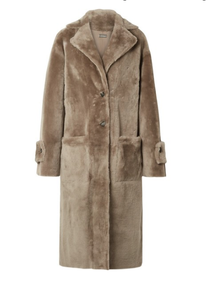 UTZON Reversible shearling coat