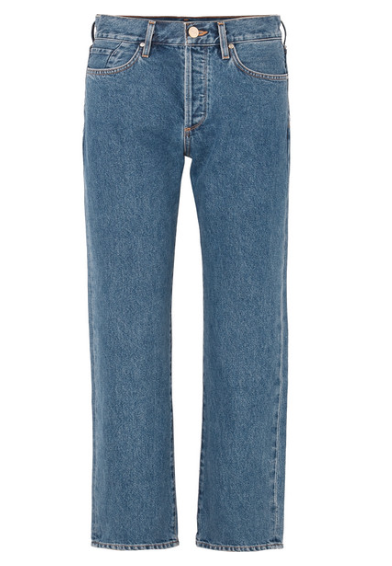GOLDSIGN The Relaxed mid-rise straight-leg jeans