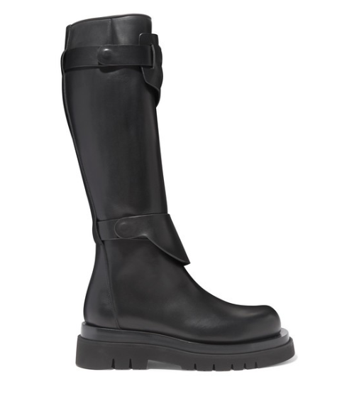BOTTEGA VENETA Leather knee boot