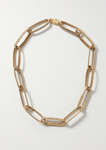 Claude gold-tone necklace
