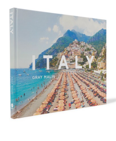 ABRAMS Italy by Gray Malin hardcover book