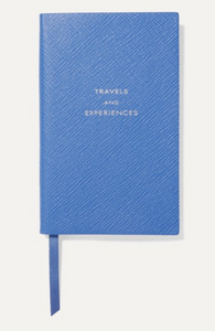 SMYTHSON Panama Travels and Experiences textured-leather notebook