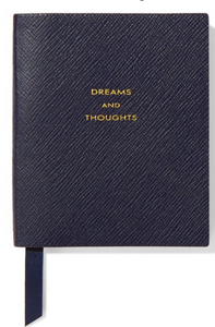 SMYTHSON Panama Dreams and Thoughts textured-leather notebook