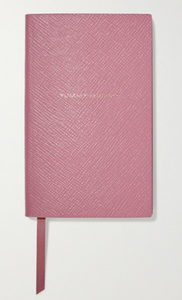 SMYTHSON Yummy Mummy textured-leather notebook