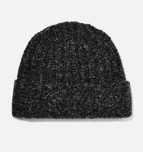 JOHNSTONS OF ELGIN Donegal ribbed cashmere beanie
