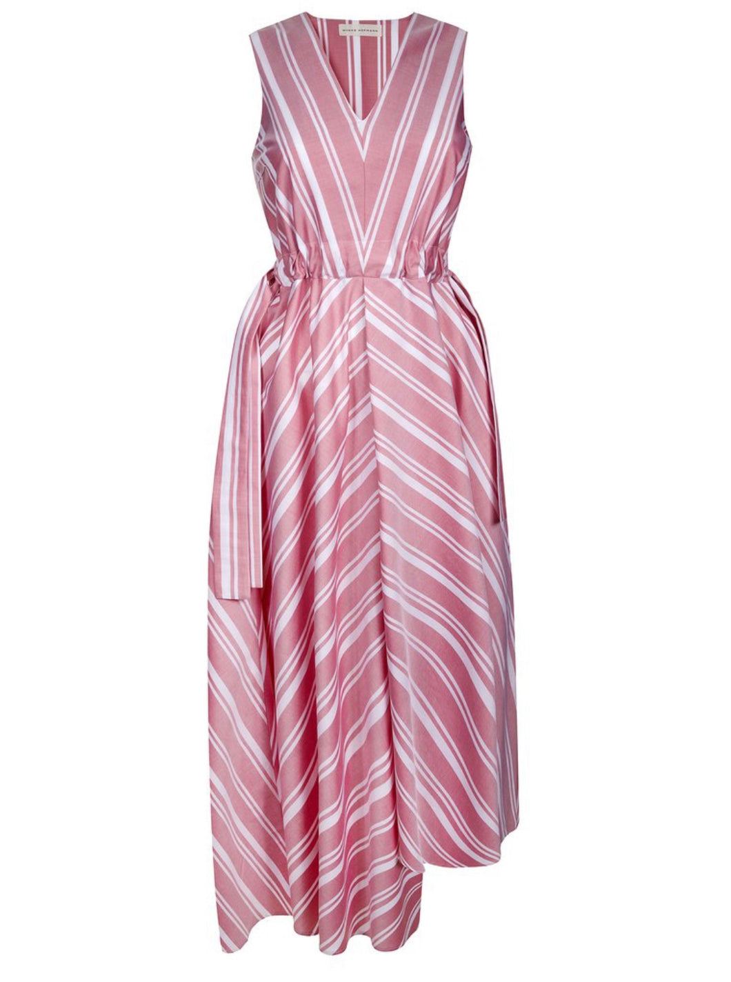 Graphic stripe dress Kaye