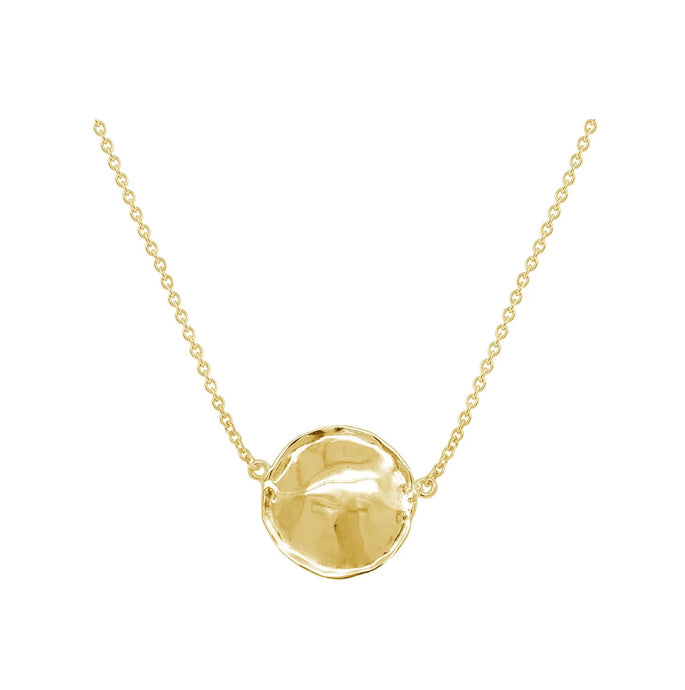 Gold Fab Heritage Necklace L
