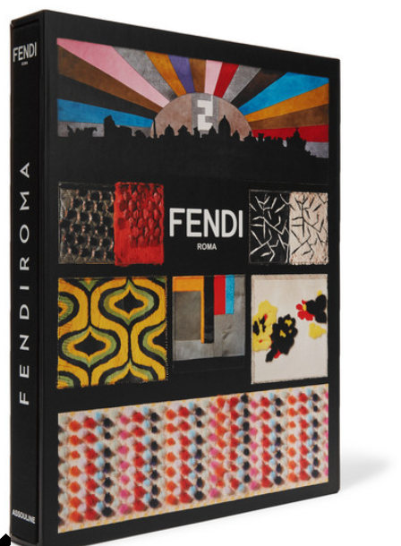 Assouline - Fendi Roma Hardcover Book - Black