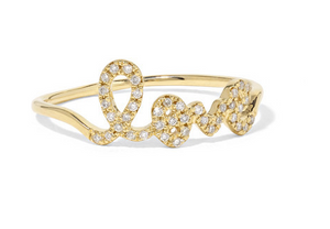 Sydney Evan - Love 14-karat Gold Diamond Ring - 5