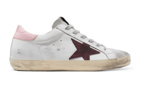 Golden Goose Deluxe Brand - Superstar Distressed Leather And Suede Sneakers - White
