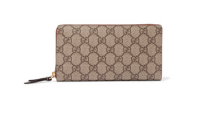 Gucci COATED-CANVAS CONTINENTAL WALLET