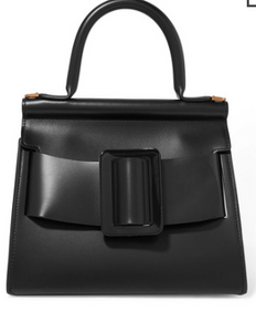 Boyy KARL 24 SMALL BUCKLED LEATHER TOTE