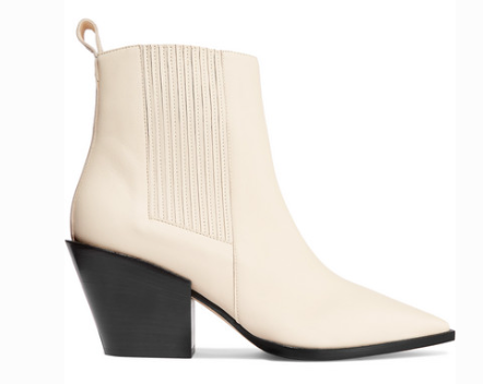 Aeyde KATE LEATHER ANKLE BOOTS