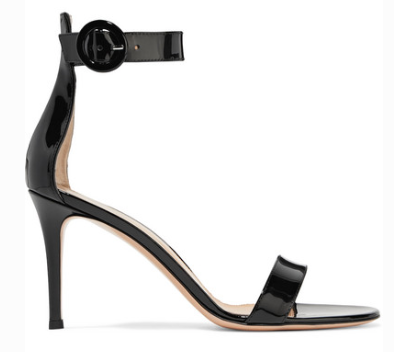 Gianvito Rossi Portofino 85 patent-leather sandals