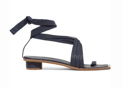 Tibi TIBI MILES LEATHER SANDALS