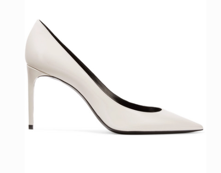 Saint Laurent SAINT LAURENT ZOE PATENT-LEATHER PUMPS