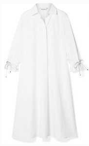 Max Mara MAX MARA MOLINA COTTON-POPLIN MIDI DRESS