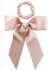 SLIP SILK RIBBON AND HAIR TIE SET