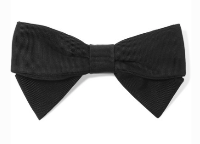 EMILIA WICKSTEAD GROSGRAIN BOW HAIRCLIP