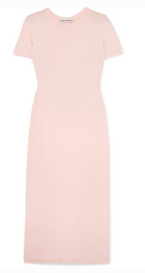 PACO RABANNE JERSEY MIDI DRESS