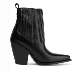 VALENTINO GARAVANI RANCH 95 LEATHER ANKLE BOOTS